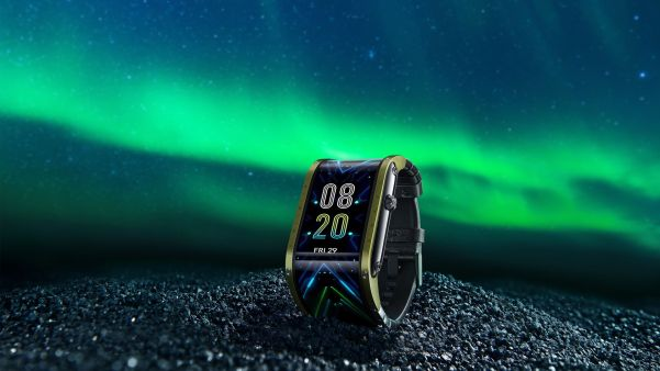 Nubia Watch Announces Kickstarter Launch of a Futuristic Flexible Display Smartwatch