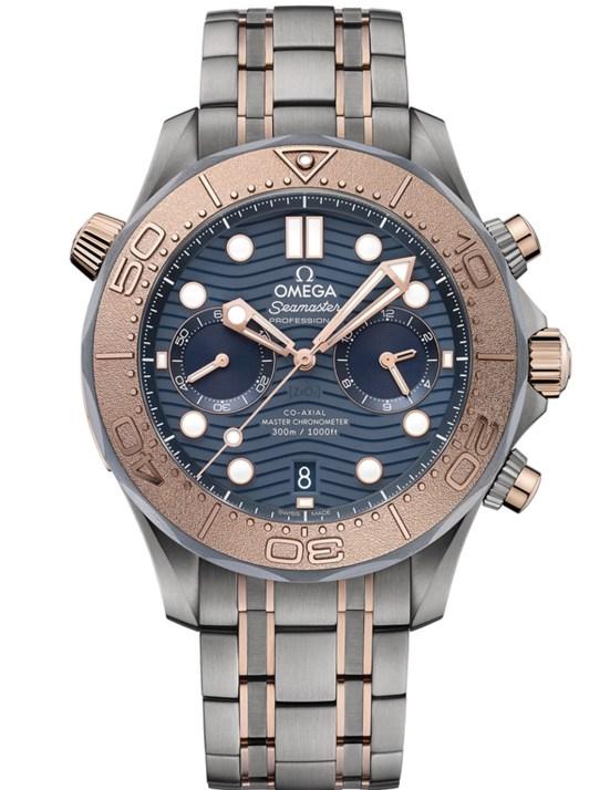 OMEGA Seamaster Diver 300M Chronograph Titanium Tantalum Sedna™ Gold