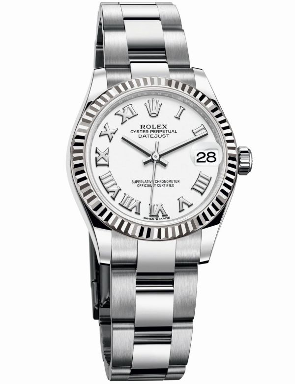 Rolex Oyster Perpetual Datejust 31 with White lacquer dial