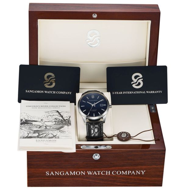 Sangamon Watch Company Lincoln's River
