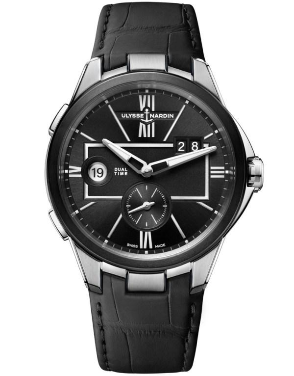 Ulysse Nardin 42 Mm Dual Time watch new edition 2020 black version