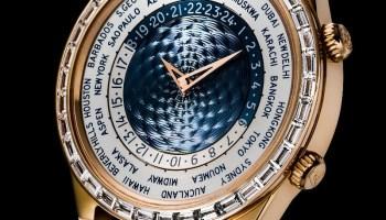 ANDERSEN Genève Tempus Terrae 40th Anniversary (with an invisible-set baguette diamonds bezel)