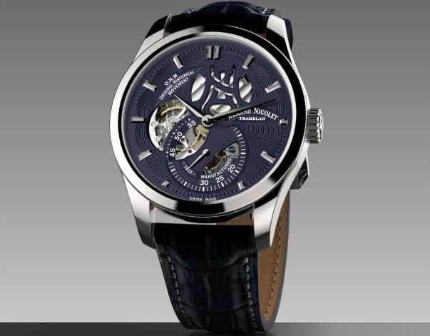 Armand Nicolet L16 automatic skeleton watch