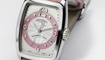 Armand Nicolet TL7 ladies watch with tonneau shaped case