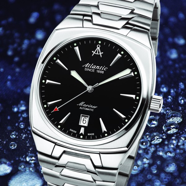 ATLANTIC Mariner Square automatic watch