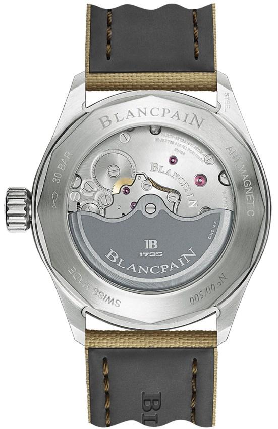 Blancpain Fifty Fathoms Bathyscaphe Day Date Desert Edition (Ref. 5052-1146-E52A)