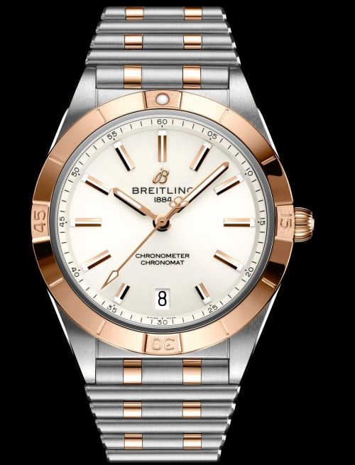 Breitling chronomat-automatic-36-in-bicolor-18-k-red-gold-and-stainless-steel-ref.-u10380101a1u1