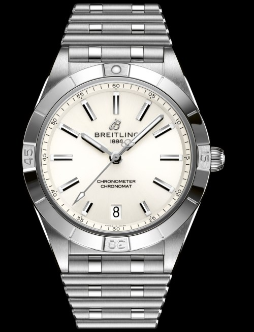 Breitling chronomat-automatic-36-in-stainless-steel-with-a-white-dial_ref.-a10380101a3a1