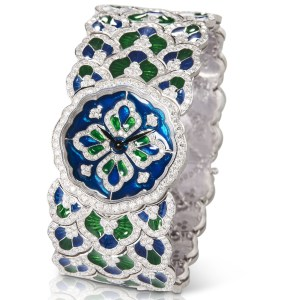 "Buccellati ""Bluebell"" watch"
