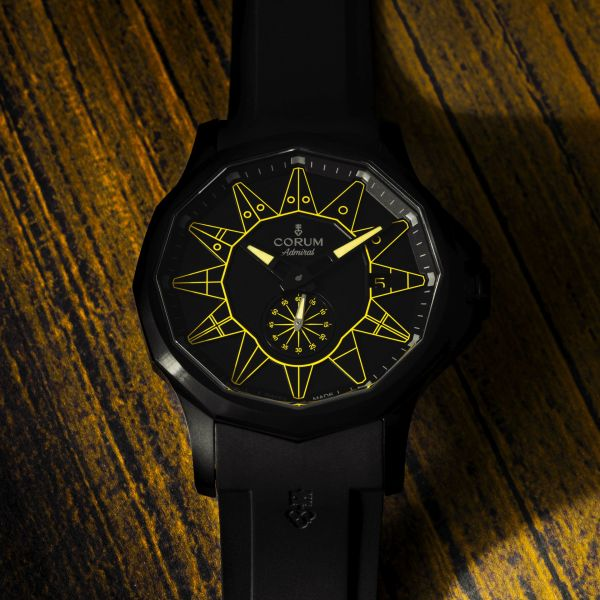 Corum Admiral 42 Automatic Full Black (New Color Versions)