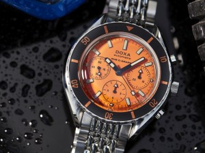 DOXA SUB 200 C-GRAPH Orange Professional