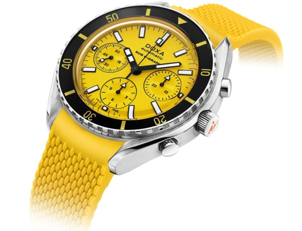 DOXA SUB 200 C-GRAPH Yellow Divingstar
