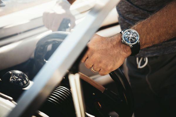 MB&F Legacy Machine Perpetual EVO watch