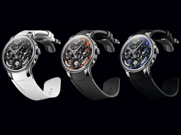 MB&F Legacy Machine Perpetual EVO watch all the three models 2020
