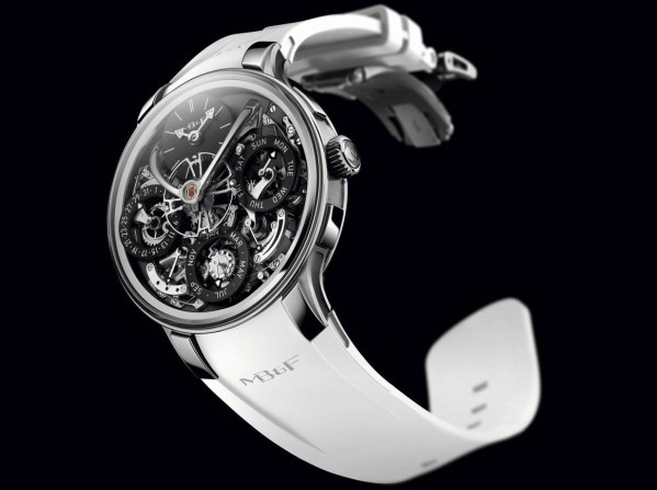 MB&F Legacy Machine Perpetual EVO with black dial plate