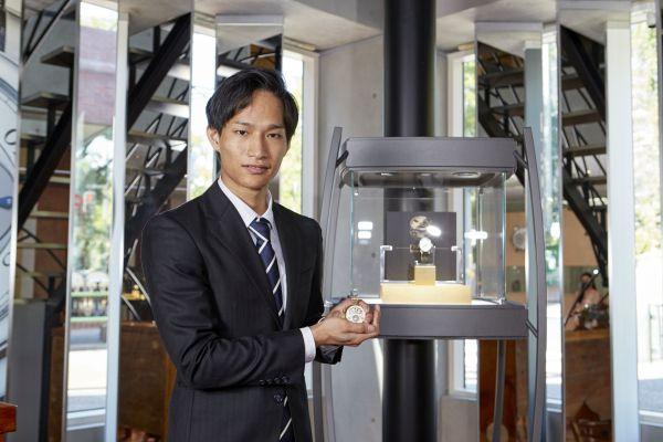 Norifumi Seki wins F.P.Journe Young Talent Competition 2020