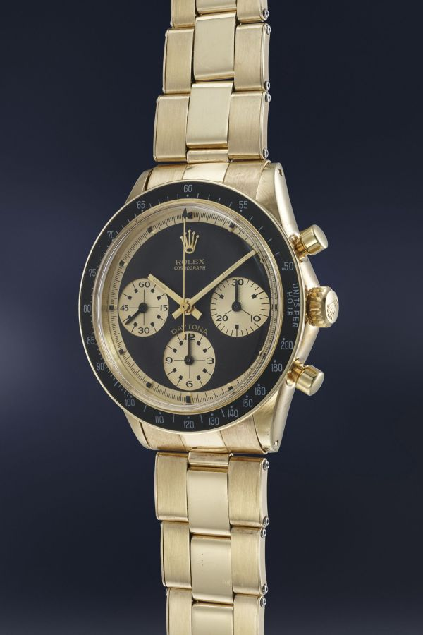 "Rolex Reference 6241 ""John Player Special"" in yellow gold, Estimate: CHF 600,000-1,200,000"