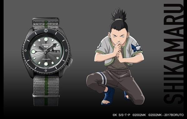 Seiko 5 Sports Shikamaru Nara (Ref. SRPF75) limited edition watch