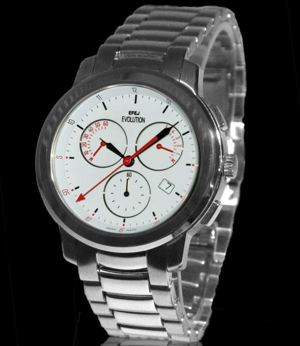 The EVOLUTION Chronograph Retrograde Watch by EFEJ (ESPACE FORMATION EMPLOI JURA)