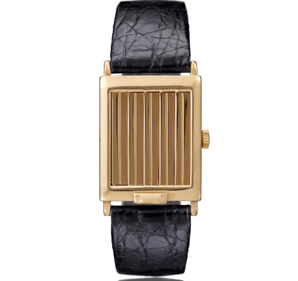 Vacheron Constantin Rectangular yellow gold shutter wristwatch – 1929