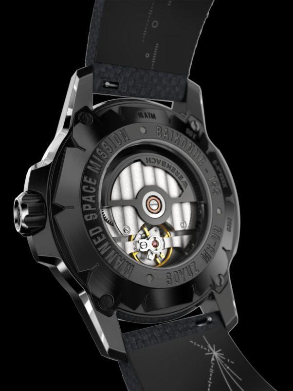 Werenbach Soyuz 01 Superlative Deepblack caseback
