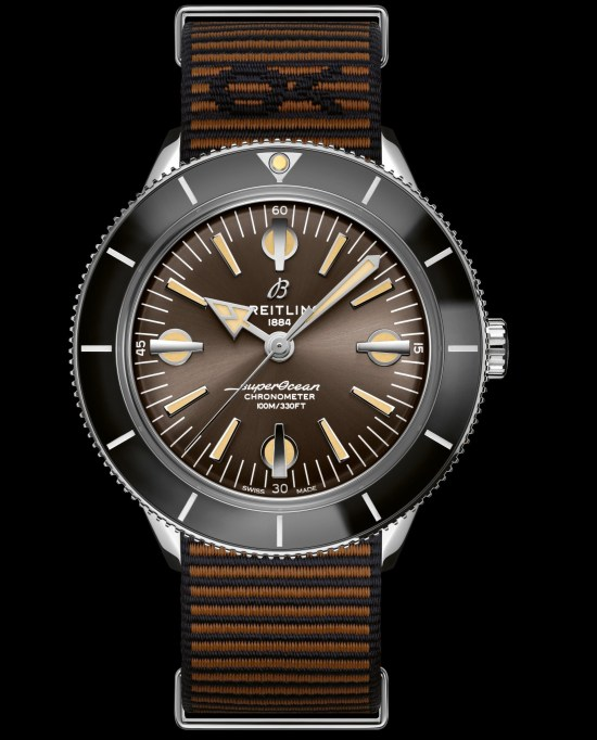 Breitling Superocean Heritage '57 Outerknown strap bronze dial