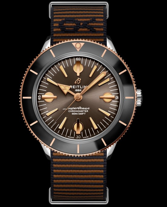 Breitling Superocean Heritage '57 Outerknown limited edition watch with red gold bezel