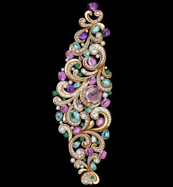 Bvlgari Lady Arabesque High-Jewellery Secret Watch