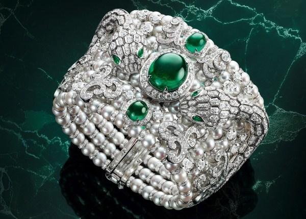 Bvlgari Serpenti Misteriosi Baroque Pearls High-Jewellery Secret Watch