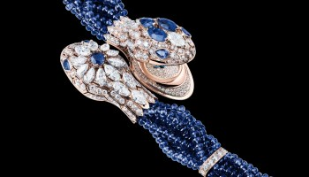 Bvlgari Serpenti Misteriosi Intrecciati Secret Watch Sapphires
