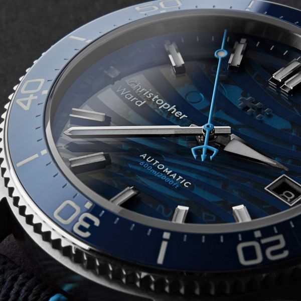 Christopher Ward C60 BLUE Limited Edition