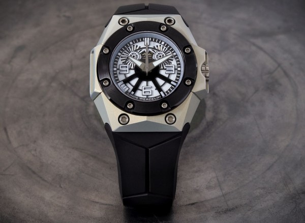 Linde Werdelin Oktopus Blue Sea Limited Edition, In Collaboration with Black Badger
