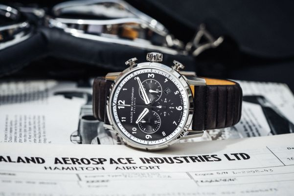 Marloe Watch Company 'Atlantic' Chronoscope Model Flyer
