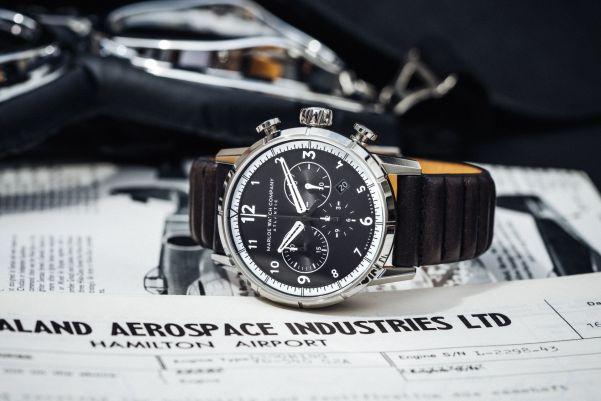 Marloe Watch Company 'Atlantic' Chronoscope Model Flyer