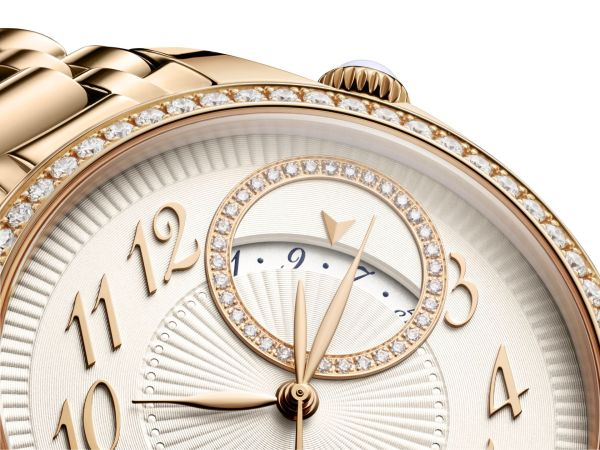 Vacheron Constantin Égérie self-winding (With Pink Gold Case and Bracelet)