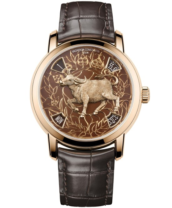 Vacheron Constantin Métiers d'Art - The legend of the Chinese zodiac, Year of the ox pink gold