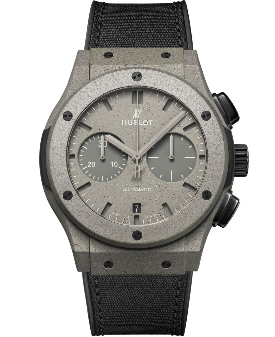 Hublot Classic Fusion Concrete Jungle New York Limited Edition watch UK retail price 15,600.00 GBP