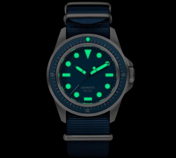 UNIMATIC x Massena LAB Marine U1-MLM Wristwatch Limited Edition