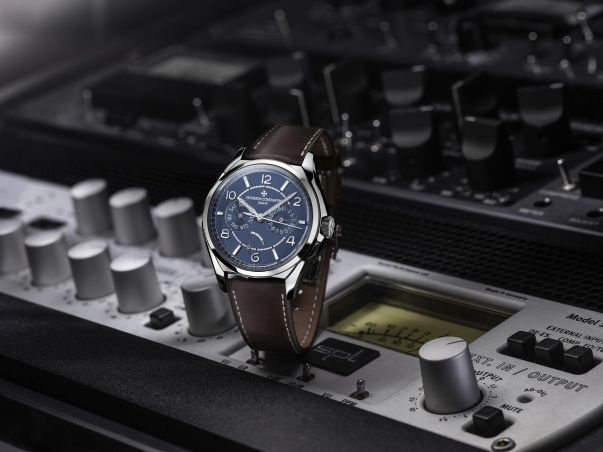 Vacheron Constantin Fiftysix Day-Date Petrol Blue Dial, Limited Edition MR PORTER Exclusive