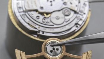 Vacheron Constantin Les Cabinotiers Bid for the Louvre watch movement rotor