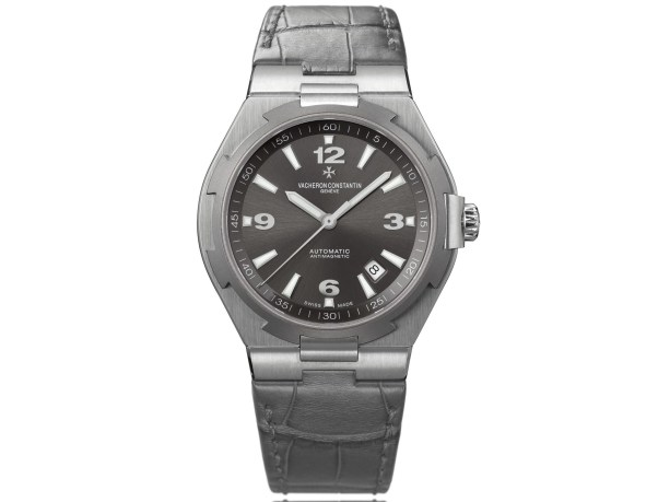 Vacheron Constantin Overseas II self-winding watch in stainless steel and titanium, anthracite dial with central seconds and date –2010