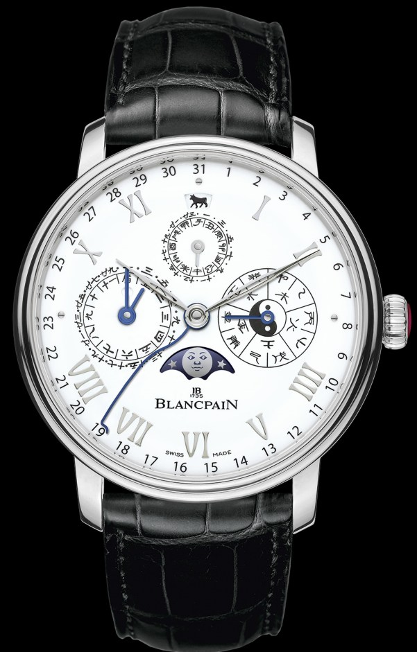 Blancpain Villeret Traditional Chinese Calendar 'The Year of the Metal Ox' Edition (Ref. 00888I-3431-55B)