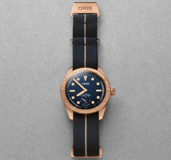01 401 7764 3185-Set - Oris Carl Brashear Calibre 401 Limited Edition