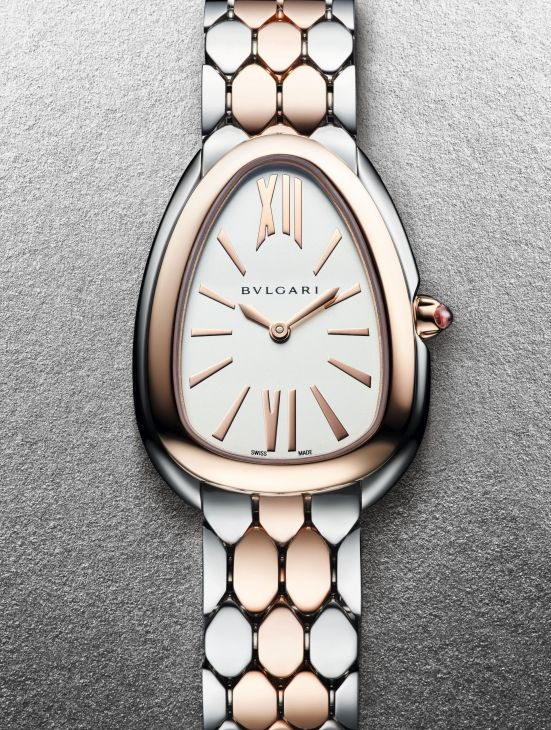 Bvlgari Serpenti Seduttori Steel and Rose Gold, Reference 103277