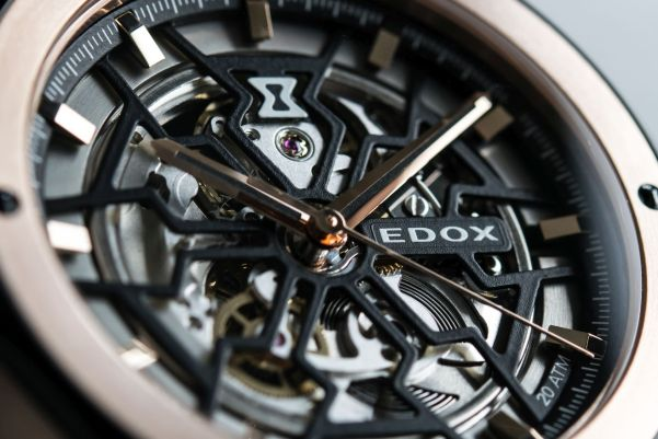 Edox Delfin Mecano Automatic watch