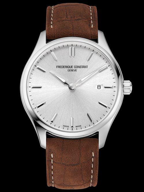 Frederique Constant Classics Quartz watch silver dial Reference FC-220SS5B6