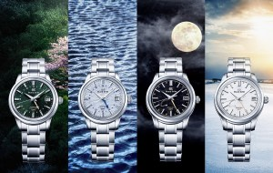 Grand Seiko Elegance GMT 'sekki' Collection - Shunbun, Shōsho, Kanro and Tōji Models