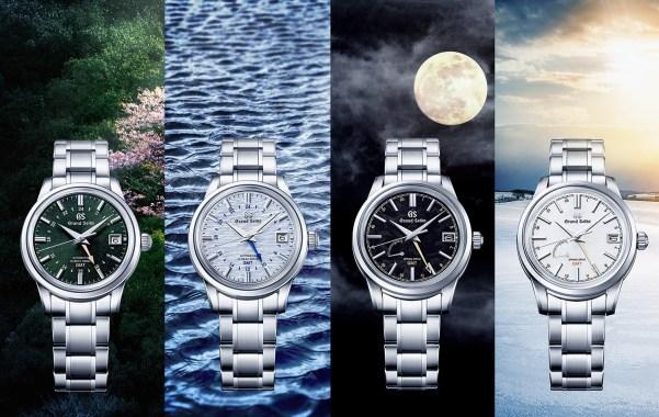Grand Seiko Elegance GMT 'sekki' Collection - Shunbun, Shōsho, Kanro and Tōji Models