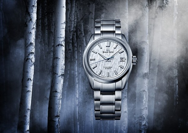 Grand Seiko Heritage Hi-Beat 36000 Automatic Watch with Textured Dial, Reference SLGH005
