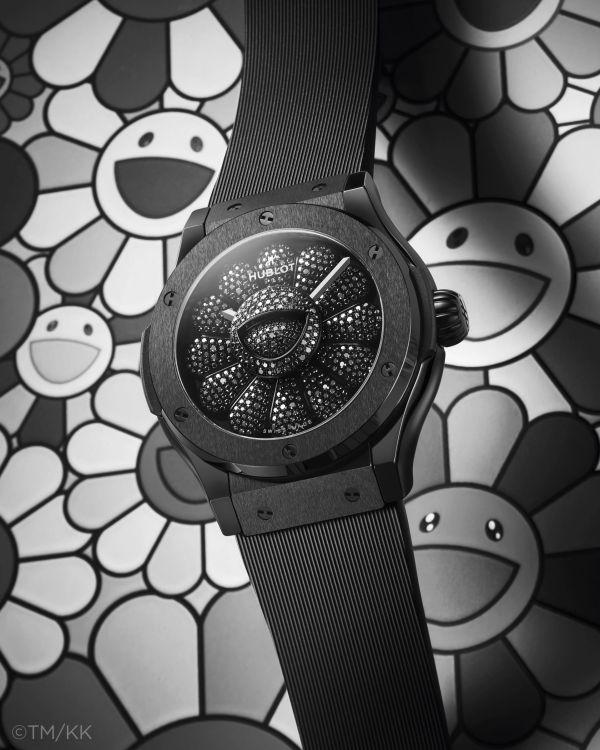 Hublot Classic Fusion Takashi Murakami All Black Limited Edition